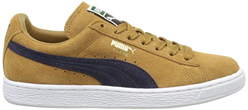 Adulte Baskets Bistre Mode Peacoat Classic Puma Marron Mixte Suede wqSpWCR