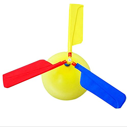 elegantstunning 1 Set Classic Balloons Toys Aircraft Helicopter Party Filler Flying Toy Gifts for Kids Toys for Kids Toys Christmas from elegantstunning