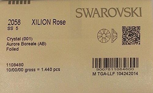 5ss Crystal AB 1440 SWAROVSKI Flatback Rhinestones Wholesale FULL Pack