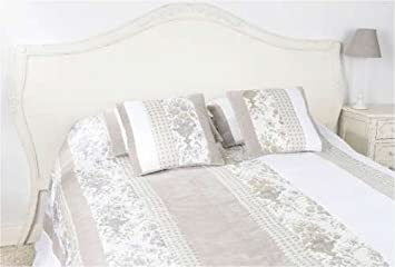 9970d64205112b Tête de lit bois blanc vieilli 160 cm Comtesse  Amazon.fr  Cuisine ...