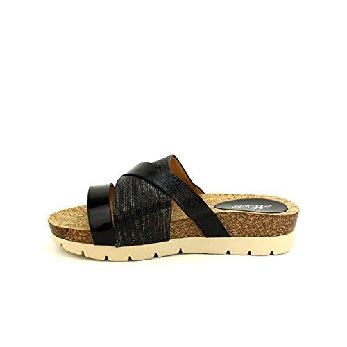Femme Mulanka Noir wBq8xOz Chaussures Confort Cendriyon Noire Mule Ultra Ybfgy76