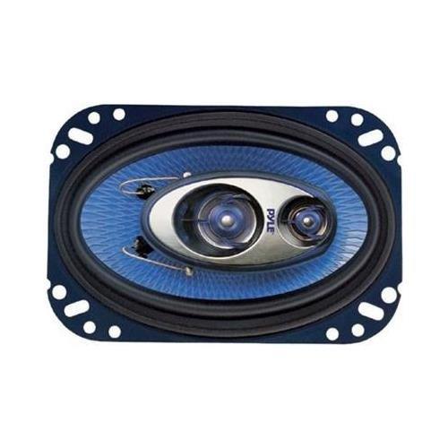 Pyle 4x6in 3-way Speakers 4 Channel Waterproof PL-463BL