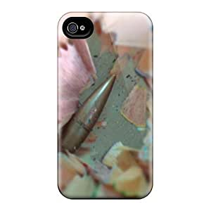Rugged Skin For HTC One M7 Case Cover - Eco-friendly Packaging(bullet)