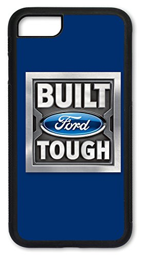 Ford Logo Cut Out - Cell Phone Case/Cover for Apple iPhone 6 Plus / 6S Plus (Larger Size iPhones) - Ford Built Tough Logo (Blue)