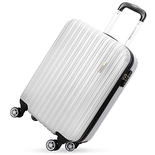 "Used, DON PEREGRINO ABS Hard Cabin Size Suitcase 20"", TSA for sale  Delivered anywhere in USA"
