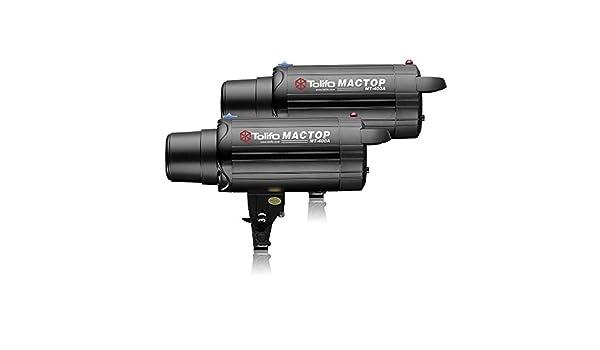 Tolifo MT-400AM 400W Flash Light Studio Strobe Lights with Digital Display Back Panel