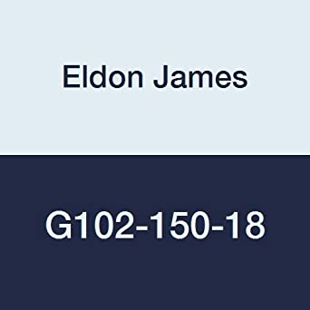 Black Nylon Eldon James 1//4-18 NPSM to 5//16 x 5//16 Barbed Bulkhead Adapter Pack Of 150