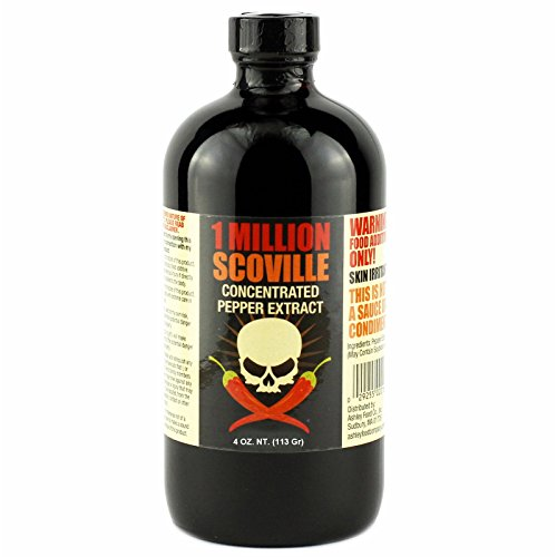1 Million Scoville Pepper Extract Hot Sauce, 4oz