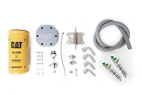Western Diesel 2003-2007 Dodge Diesel 2 Micron Fuel Filter Upgrade Kit (Cummins Fuel Filter Kit compare prices)