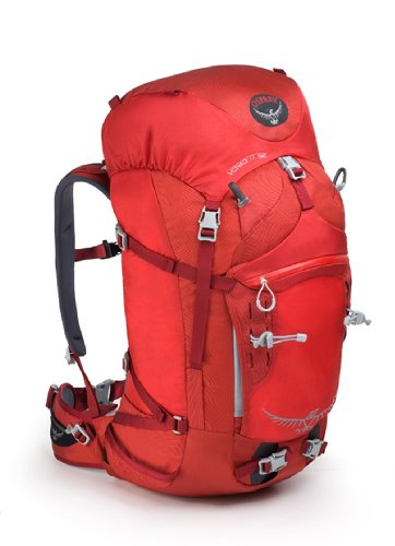 Osprey Variant 52 Pack, Pyro Red, Large, Outdoor Stuffs