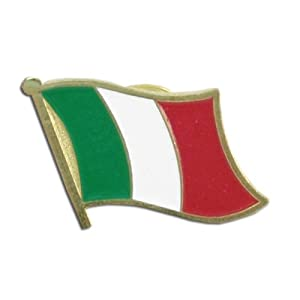 US Flag Store Lapel Pin Italy Flag