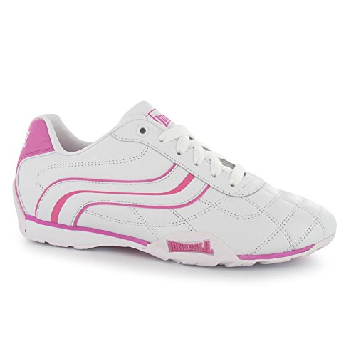 Sneakers Fashion Trainers Shoes Camden Casual Cerise Lonsdale Womens White zPwx0q4