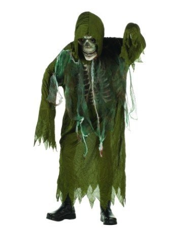 Girl Swamp Monster Costume (Swamp Creature - Child Medium (8-10) Costume)