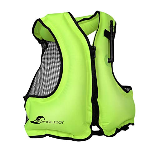 OMOUBOI Inflatable Snorkel Jacket