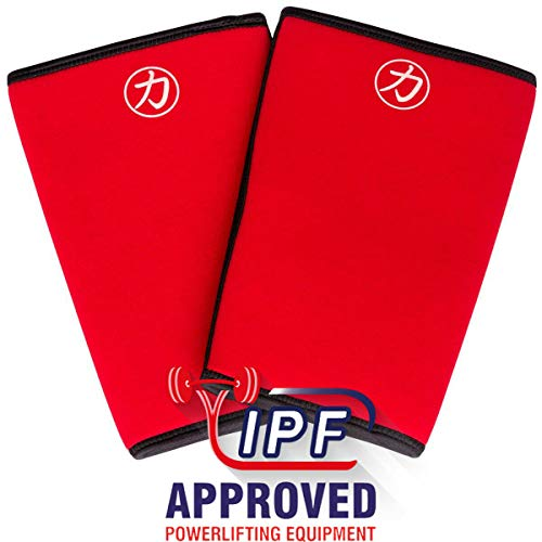 0ae32524dc Strength Shop 7MM Inferno Knee Sleeves IPF Approved (X-Large) -  Powerlifting Weightlifting