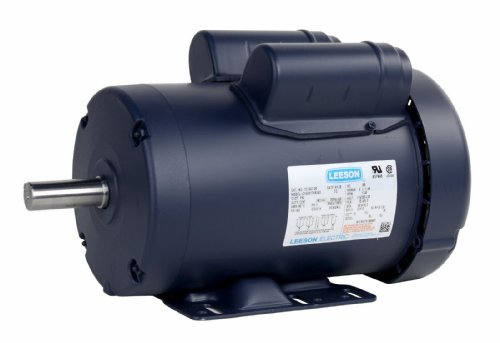 Leeson 121507.00 2HP 1740 RPM 115V 60Hz 1-PH USA Made Model C145K17FB24D Motor by Leeson Electric