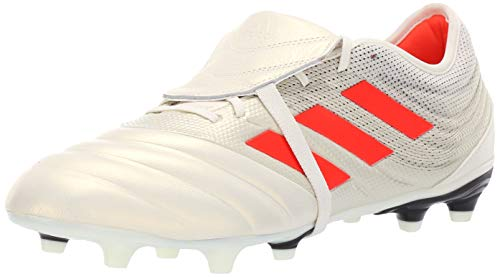 adidas Men's Copa Gloro 19.2 Firm Ground, Off White/Solar red/Black, 11 M US