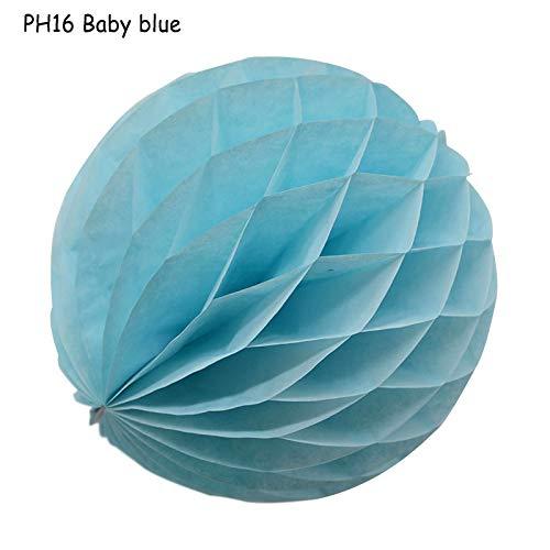 SW.DECORATION Party 5/10/15cm 1pcs 31 Color Decorative Flower Paper Lantern Honeycomb Ball for Wedding Party Kid Birthday Babyshower 8z