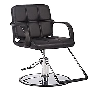 Amazon.com: piel sintética silla hidráulica de ajustable ...