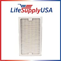 LifeSupplyUSA Replacement HEPA Filter fits Hunter 30966 Air Purifier fits 30747, 30748, 30750, 30856, 37748, 37750, 37760