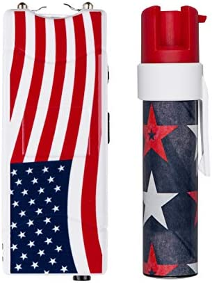 SABRE Patriotic Personal Safety Product Choose from Pepper Gel, Pepper Spray, or Stun Gun