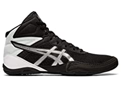 Built to provide you with confidence on the mat, the ASICS unisex MATFLEX 6 wrestling shoe is a must-have for wrestling professionals from all backgrounds. When you're striving to make it to the end of the match and hopefully walk away with t...