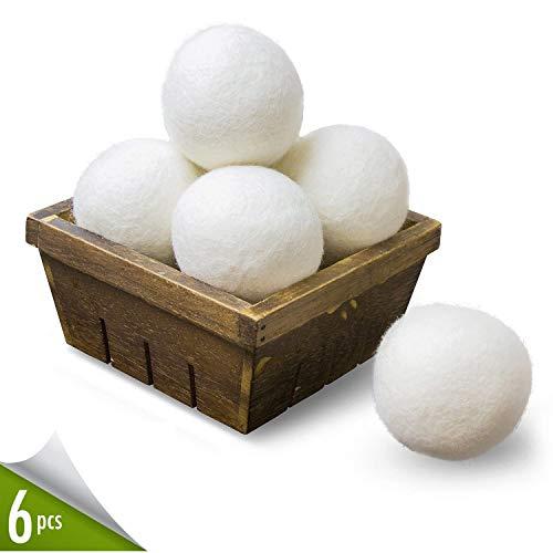 Wool Dryer Balls 6 Pack XL