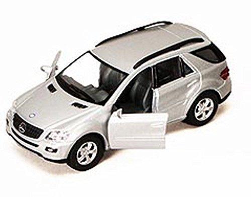 Mercedes Benz ML-Class SUV, Silver - Kinsmart 5309DD - 5