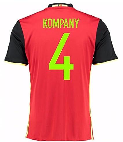 d5c5943779f 2016-2017 Belgium Home Shirt (Kompany 4)