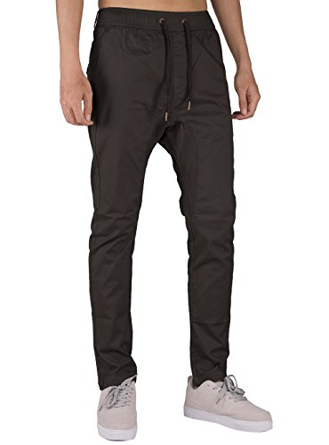Coton Homme Tourbe Casual The Jogging Pantalon Awoken Fit Gris Slim Chino xq5YfnzY