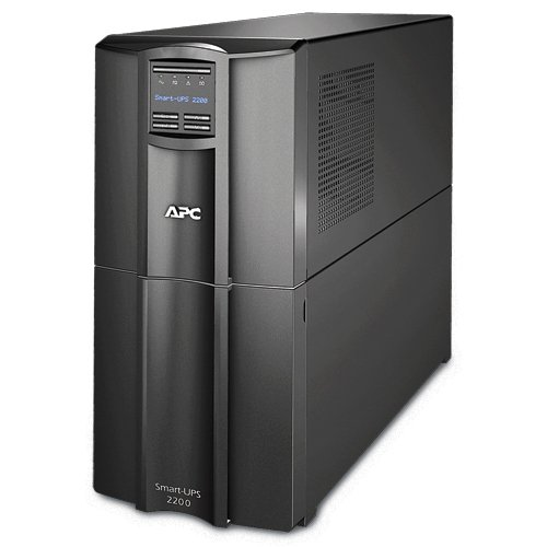 - APC Smart-UPS 2200VA UPS Battery Backup with Pure Sine Wave Output (SMT2200)
