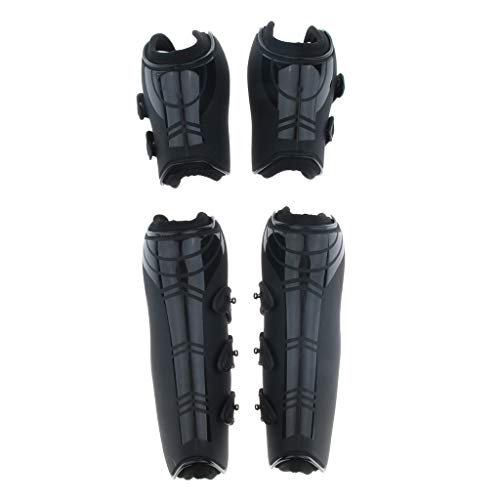 Prettyia Horse Exercise Jumping Boots Open Front Jumping Tendon Boot & Fetlock Boots