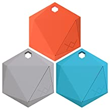 XY3 Third Generation Bluetooth Item Finder for iOS and Android - Tropical 3-Pack