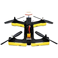 VIFLY R220 M2 (Yellow) Racing Drone BNF Version with FrSky Receiver | F4 Flight Controller | 2205-2600KV Motors | BLHeli-S 30A ESCs | 700TVL Camera | Compatible with Taranis Q X7, X9D Plus, X9E