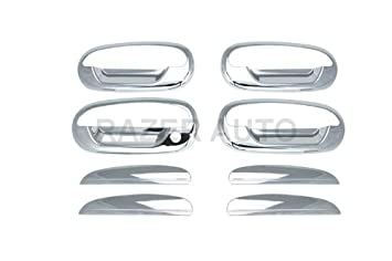 For Ford F150 1997-2002 2003 HERITAGE 2004 Chrome Tailgate Cover WITH Keyhole