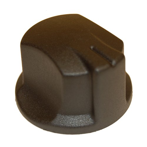 Music City Metals 04470 Plastic Control Knob Replacement for Select Gas Grill Models by Charbroil, Kenmore and Others