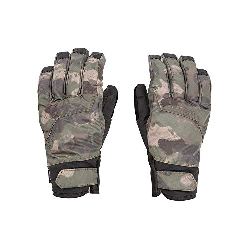 Volcom Men's CP2 Gore-Tex Waterproof Snow Glove, Camouflage, Small (Gore Tex Thinsulate Gloves)