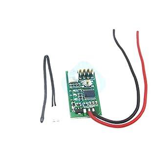 Amazon.com: DC 12 V PWM 4 cables línea ventilador control de ...