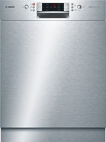 Bosch SMU69P45EU Unterbaugeschirrspüler 1.7 / A++ / 266 kWh/Jahr / 266 L/Jahr / 60 cm / EcoSilence Drive / Glasschutz-Technik / edelstahl