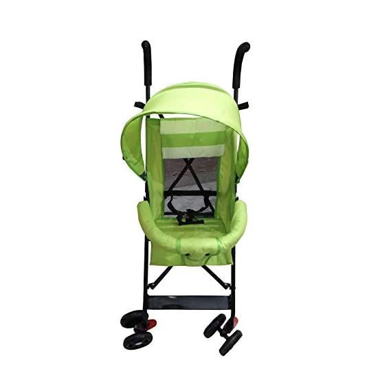 Safe-O-Kid Light Weight Baby Stroller Pram/Buggy (0-4 Years), Foldable/Portable, Strong Travel Friendly Colourful