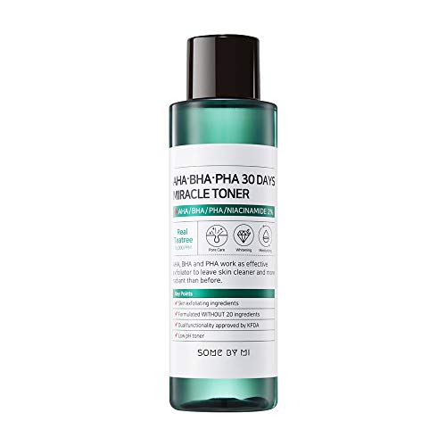 Miracle Face - SOME BY MI Aha.Bha.Pha 30Days Miracle Toner 150ml (5oz) Anti-acne Exfoliation Hydration Brightening