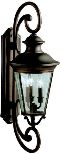 kichler-lighting-9348oz-3-light-claire-outdoor-sconce-olde-bronze