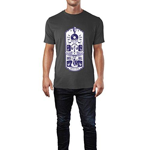 SINUS ART® Vintage Motorcycle Riders Herren T-Shirts in Smoke Fun Shirt mit tollen Aufdruck