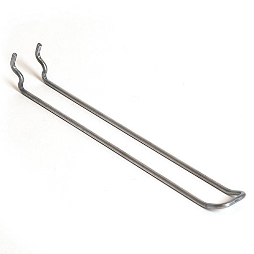 KC Store Fixtures A45116 Pegboard Loop Hook, 6'', Zinc (Pack of 100)