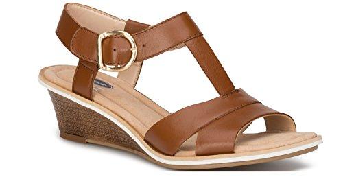 Brown Leather Sling Back Women Sandal Dr. Scholl's Comfort Shoes (8.5) Brown Leather Slingback