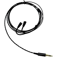 E-TING 1.2M Silver Plated Upgrade Cable Replacement for Sennheiser IE8 IE80 IE8i