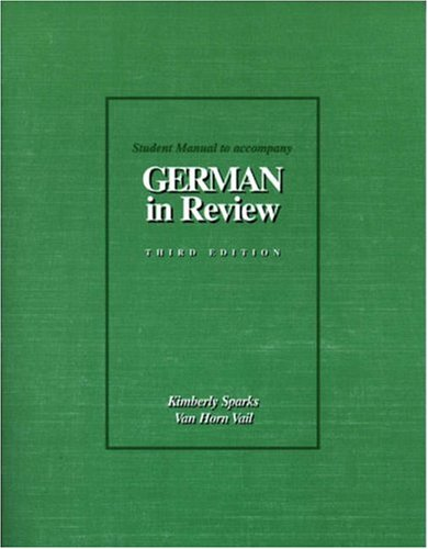 German in Review Text