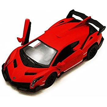 Amazon Com Kinsmart Lamborghini Veneno Red 5370d 1 36 Scale