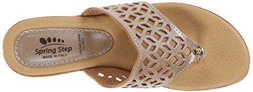 Soft Wedge Sandal Women's Gold Amerena Spring Step qWHwxAq8Z
