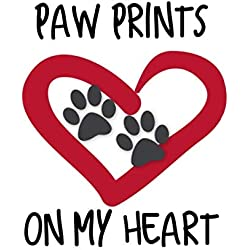 Paw Prints on My Heart: Children's Storybook Journal to Process Grief and Say Goodbye after the Loss of Dog